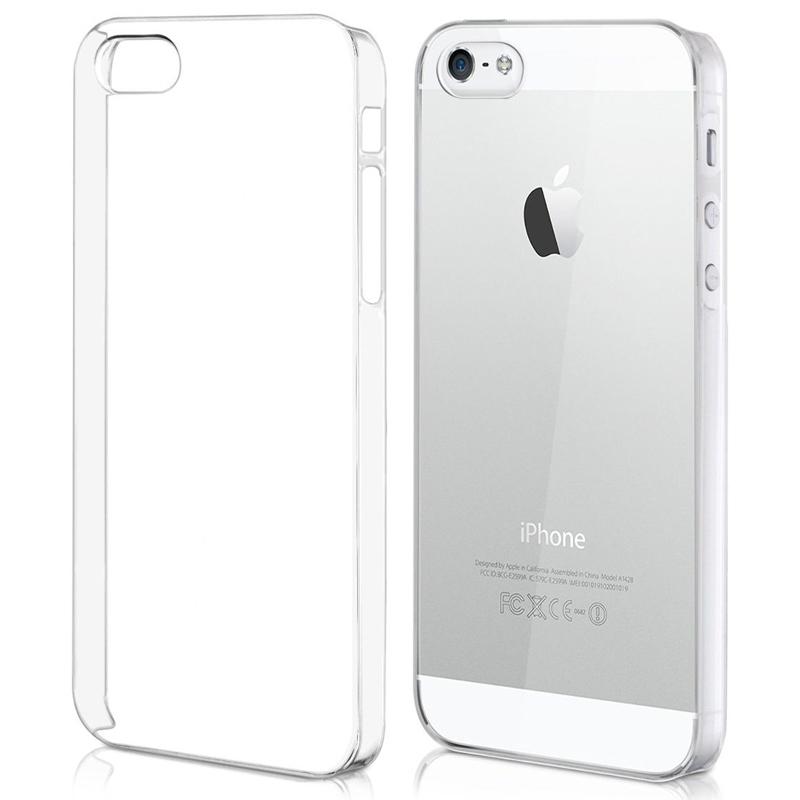 Silikonový průhledný kryt pro iPhone 5/5s