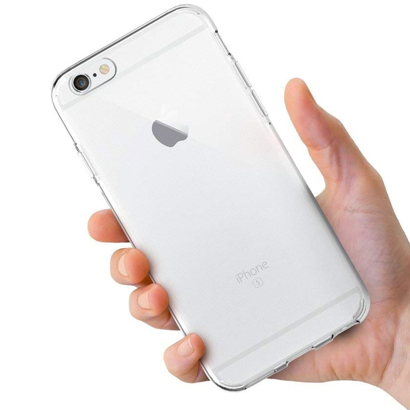 Silikonový průhledný kryt pro iPhone 6/6s