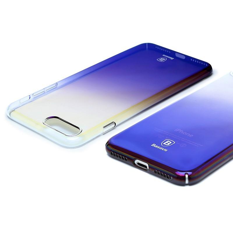 BASEUS Glaze lesklý průhledný kryt pro iPhone 7/8