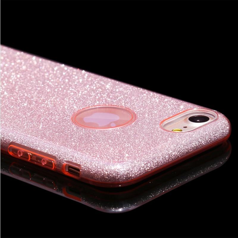Luxusní kryt USAMS Bling pro Apple iPhone 7/8  - růžový