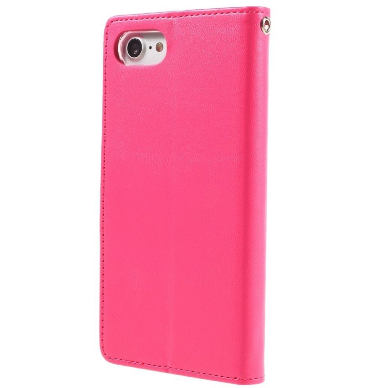 Mercury Bravo Diary pouzdro pro iPhone 7/8 růžové