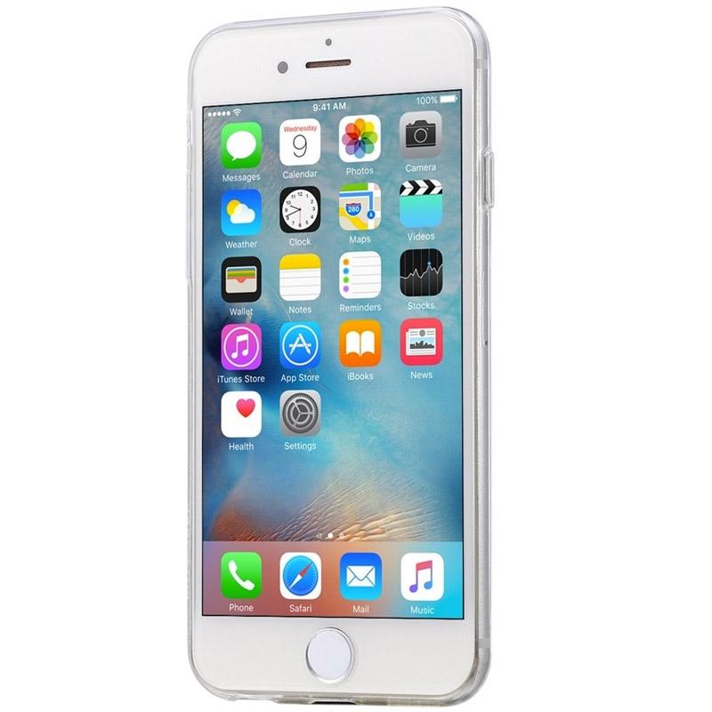 Silikonový kryt pro iPhone 6/6s Good Vibes