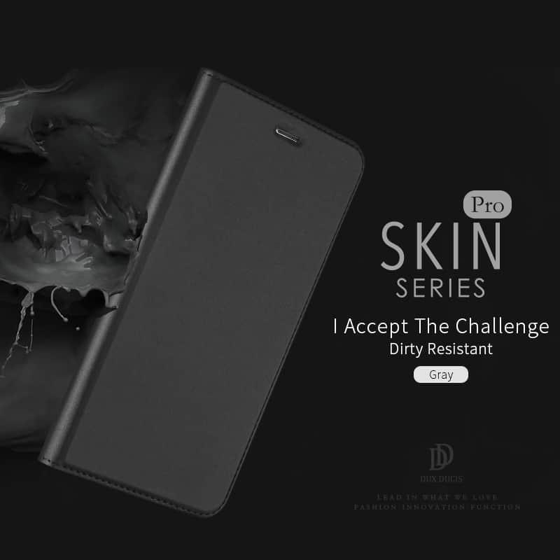 Luxusní Pouzdro DUX DUCIS Skin Pro pro iPhone 7/8 - černé