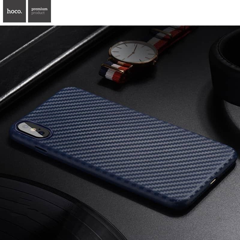 Kryt HOCO Carbon Fibre Ultratenký pro Apple iPhone XS/X