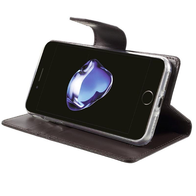 Mercury Bravo Diary pouzdro pro iPhone 7/8 hnědé