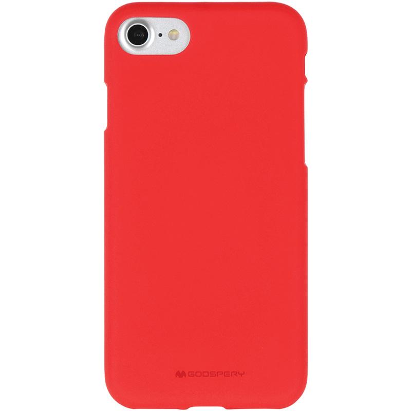 Mercury Soft Feeling pouzdro pro iPhone 7/8 červené
