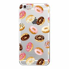 Silikonový stylový kryt pro Apple iPhone 6/6s Donuts