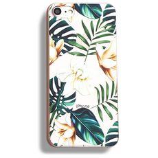 Silikonový kryt pro iPhone 6/6s Bahama Leaves
