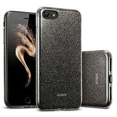 ESR Makeup Glitter pouzdro pro iPhone 7/8 černé