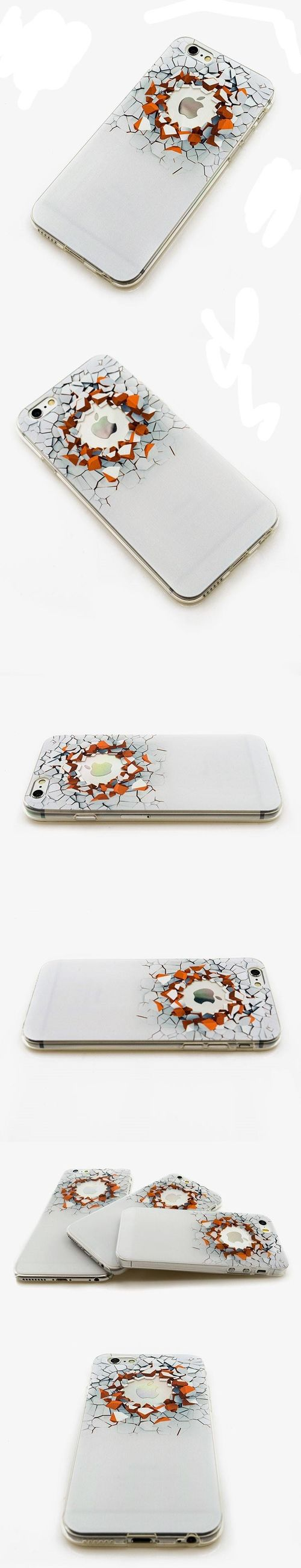 Silikonový kryt pro iPhone 6/6s Creative 3d