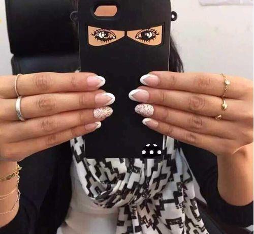 Silikonový kryt pro iPhone 6/6s Afgánská žena