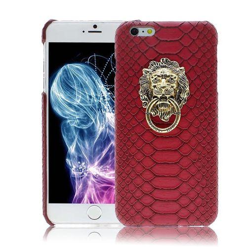Luxusní 3D kryt pro iPhone 6/6s Lví hlava