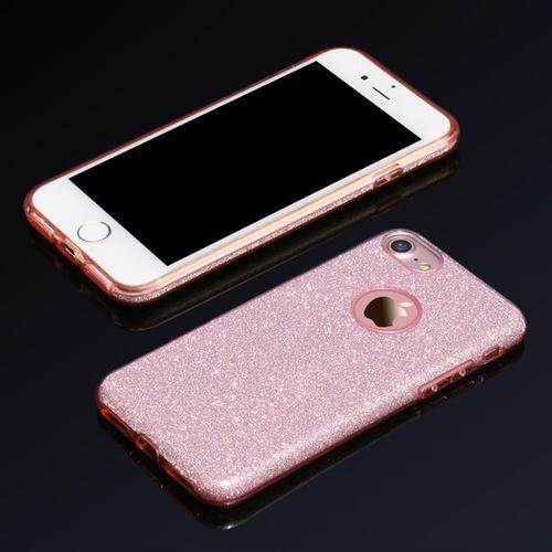 Luxusní kryt USAMS Bling pro Apple iPhone 7 Plus - růžový