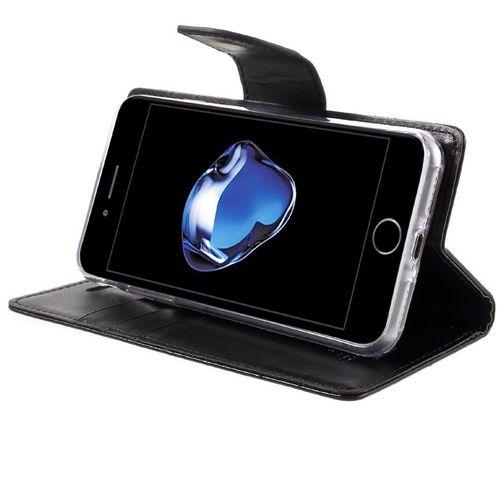 Mercury Bravo Diary pouzdro pro iPhone 7/8 černé