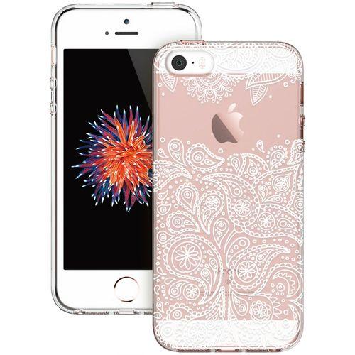 Kryt ESR Totem Grenache Paisley pro Apple iPhone 5/5s