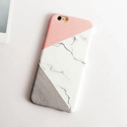 Plastový kryt Geometric Marble pro iPhone 6/6s