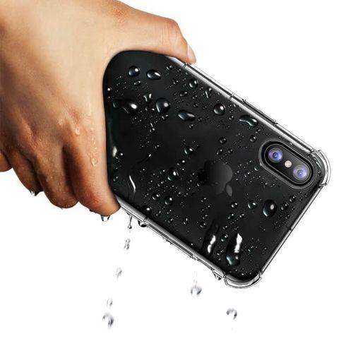 Transparentní kryt na iPhone XS/X Rock Fence S Series, čirý