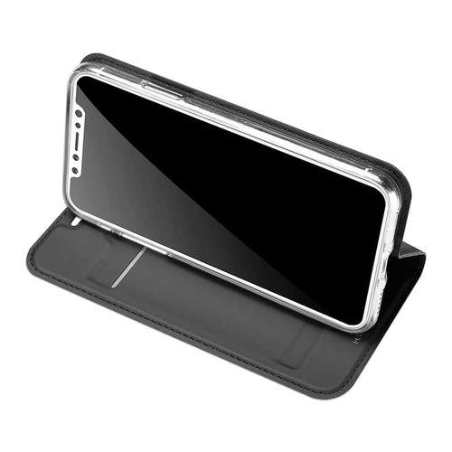 Luxusní pouzdro na iPhone XS/X DUX DUCIS Skin Pro Series, černé