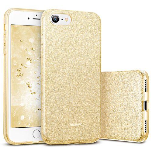 ESR Makeup Glitter pouzdro pro iPhone 7/8 zlaté