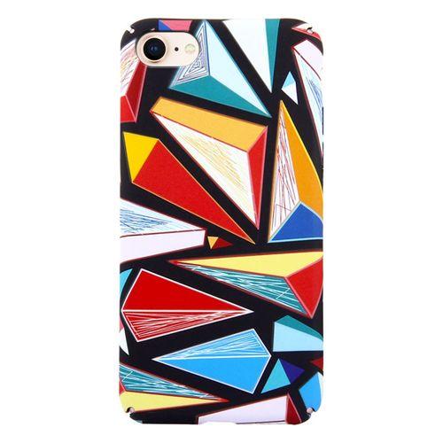 Kryt pro iPhone 7/8 barevné trojúhelníky