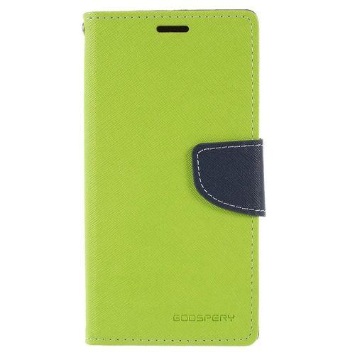 Mercury Fancy Diary pouzdro pro Huawei P20 Lite zelené