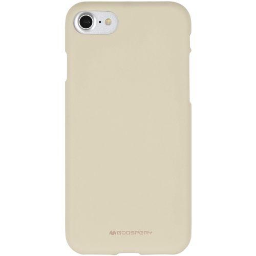 Mercury Soft Feeling pouzdro pro iPhone 7/8 písek béžový